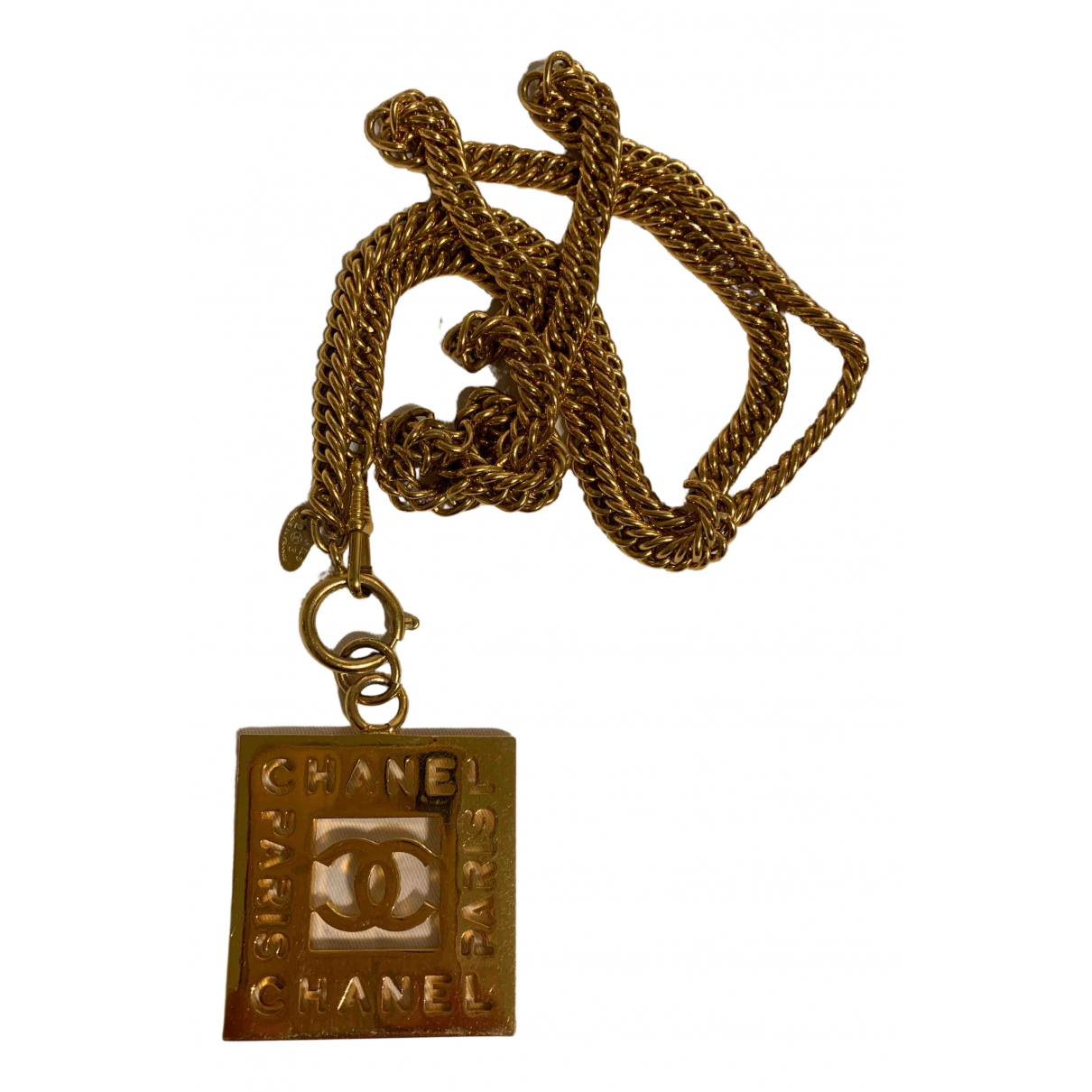 Chanel \N Gold Metal pendant for Women \N