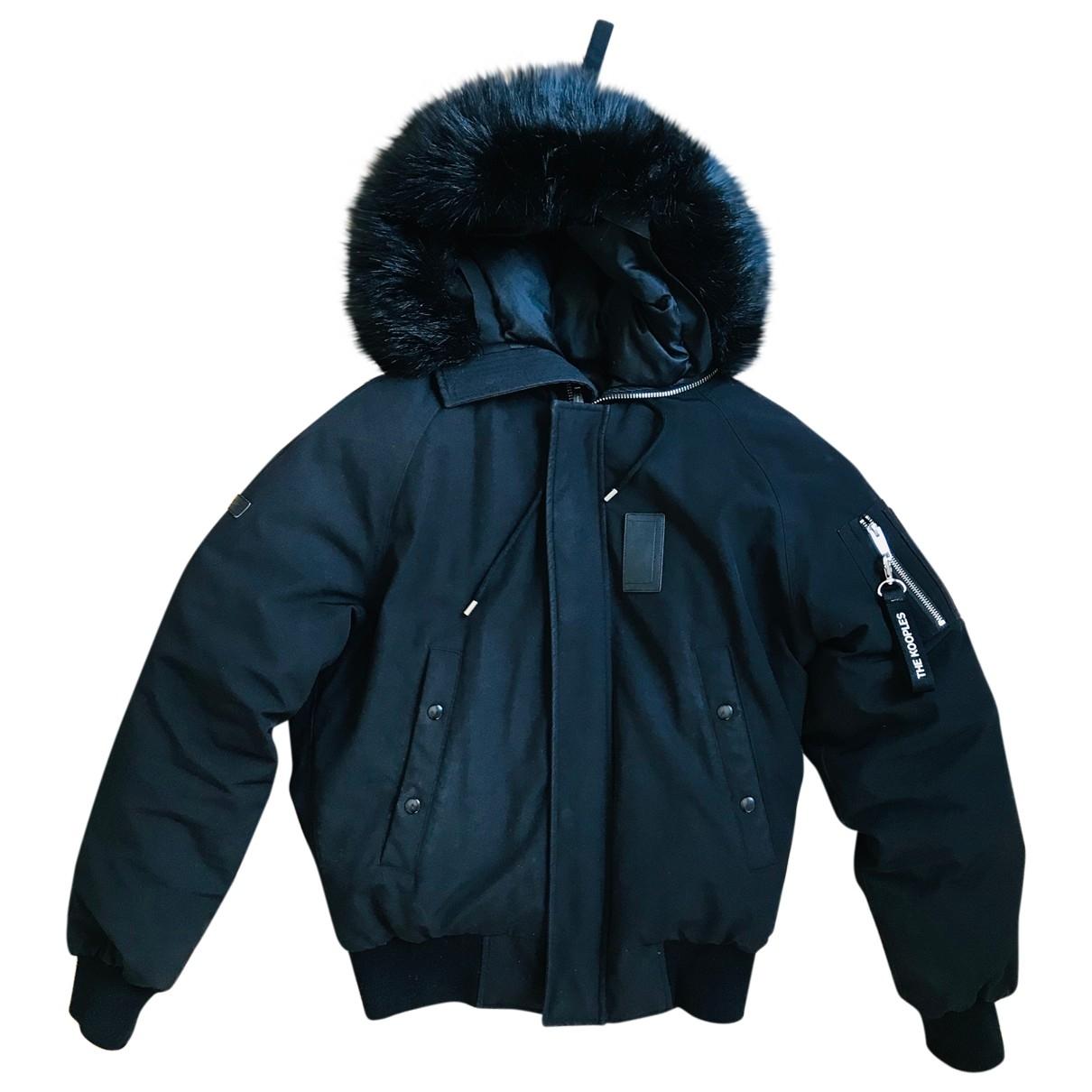 The Kooples Fall Winter 2019 Black coat  for Men S International