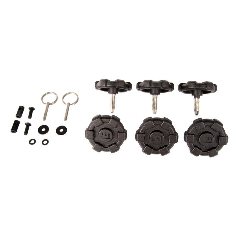Rugged Ridge 13510.16 Elite Hard Top Quick Removal Kit; 07-18 Jeep Wrangler JKU, 4 Door Jeep Wrangler 2007-2018