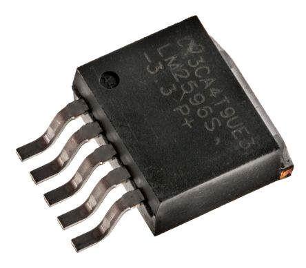 Texas Instruments , LM2596S-3.3/NOPB Step-Down Switching Regulator, 1-Channel 3A 5-Pin, D2PAK