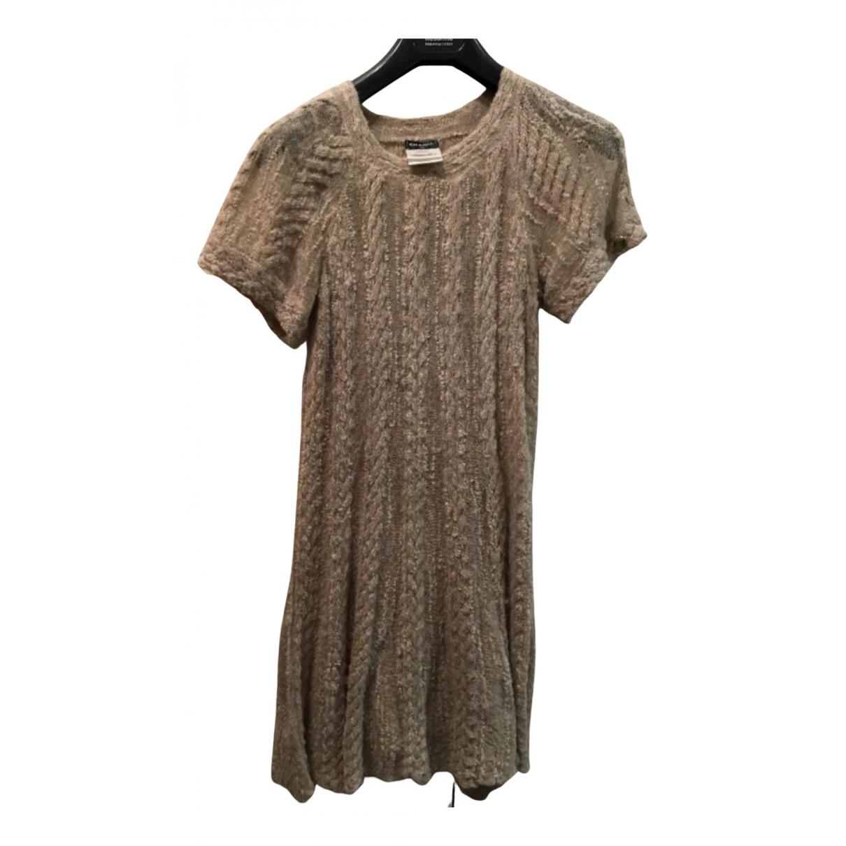 Chanel \N Kleid in  Beige Viskose