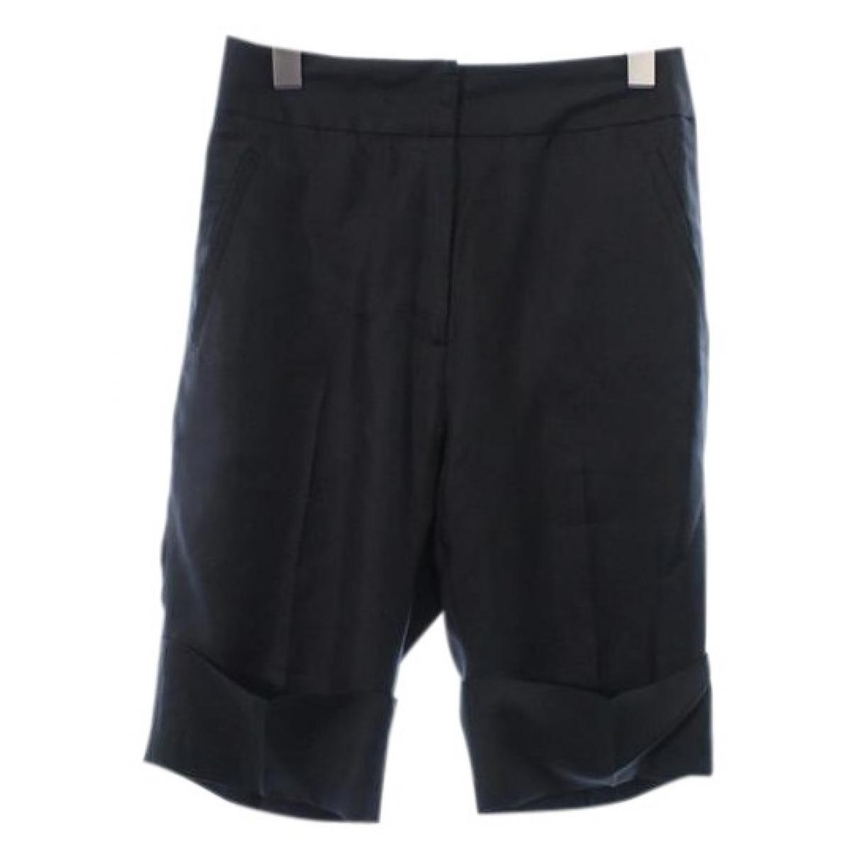 Acne Studios \N Black Silk Shorts for Women 34 FR