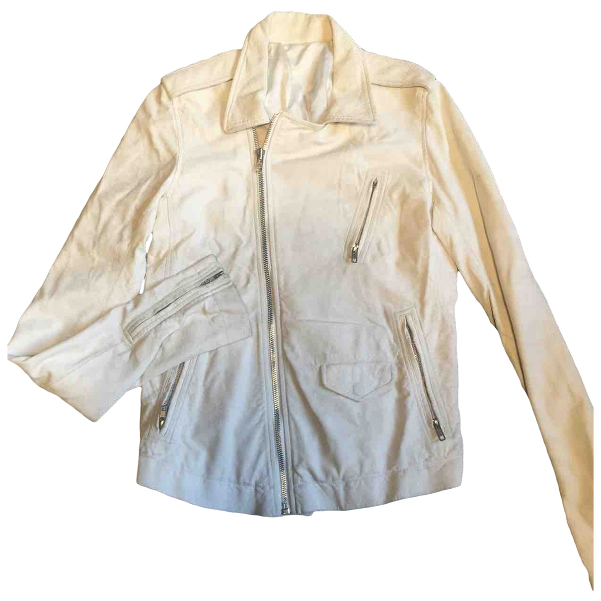 Rick Owens \N White Leather jacket  for Men M International