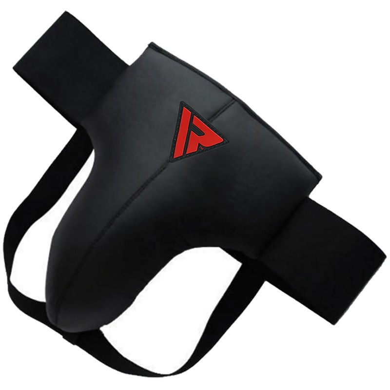 RDX X1 Small Black Groin Guard Protector for Boxing MMA Muay Thai Taekwondo Kickboxing BJJ Karate Fight and Training Protection