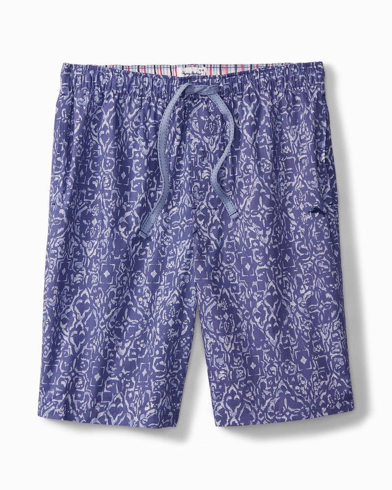 Batik Geo Woven Lounge Shorts