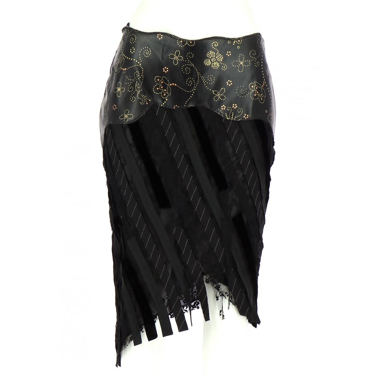 Non Signé / Unsigned \N Black skirt for Women 40 FR