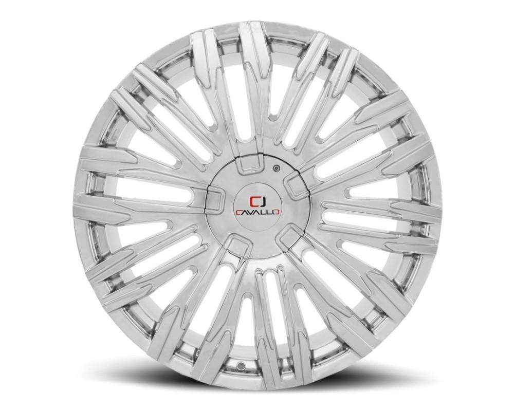 Cavallo CLV-28 Wheel 22x8.5 5x112 5x114.3 38mm Chrome