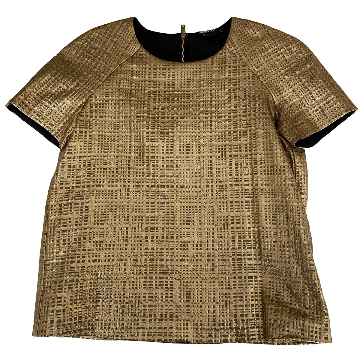 Dkny \N Top in  Gold Polyester