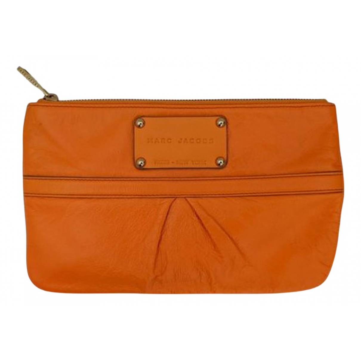 Marc Jacobs N Orange Leather Clutch bag for Women N