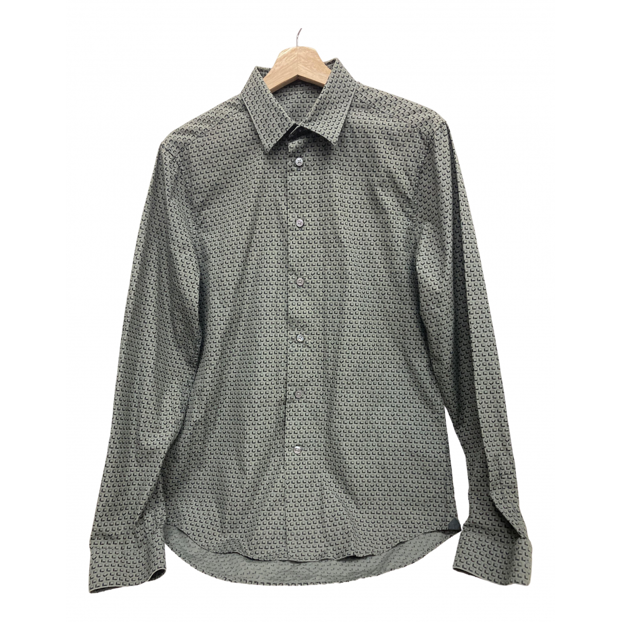 Louis Vuitton \N Green Cotton Shirts for Men S International