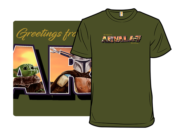 Greetings From Arvala-7 T Shirt