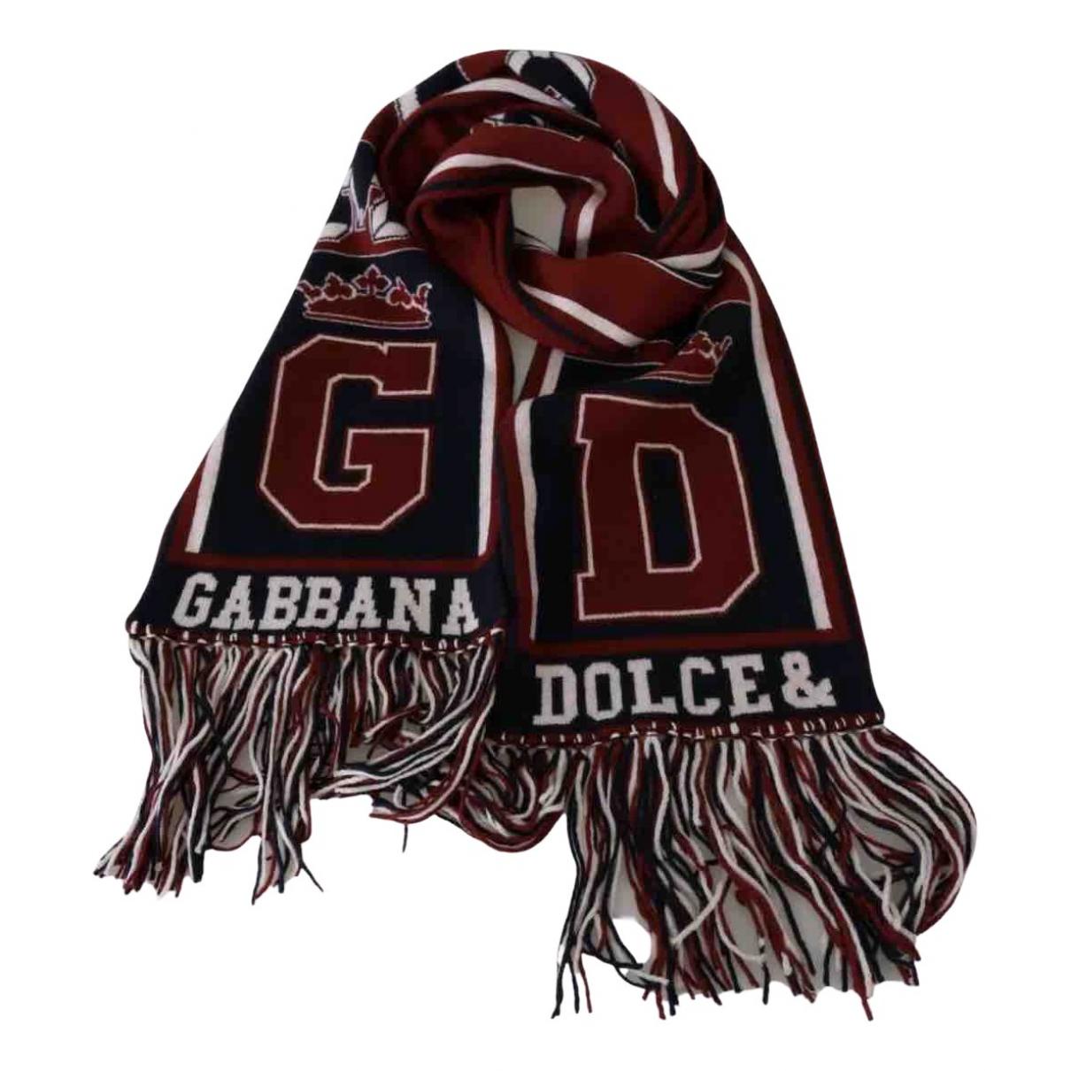 Dolce & Gabbana \N Tuecher, Schal in  Rot Kaschmir