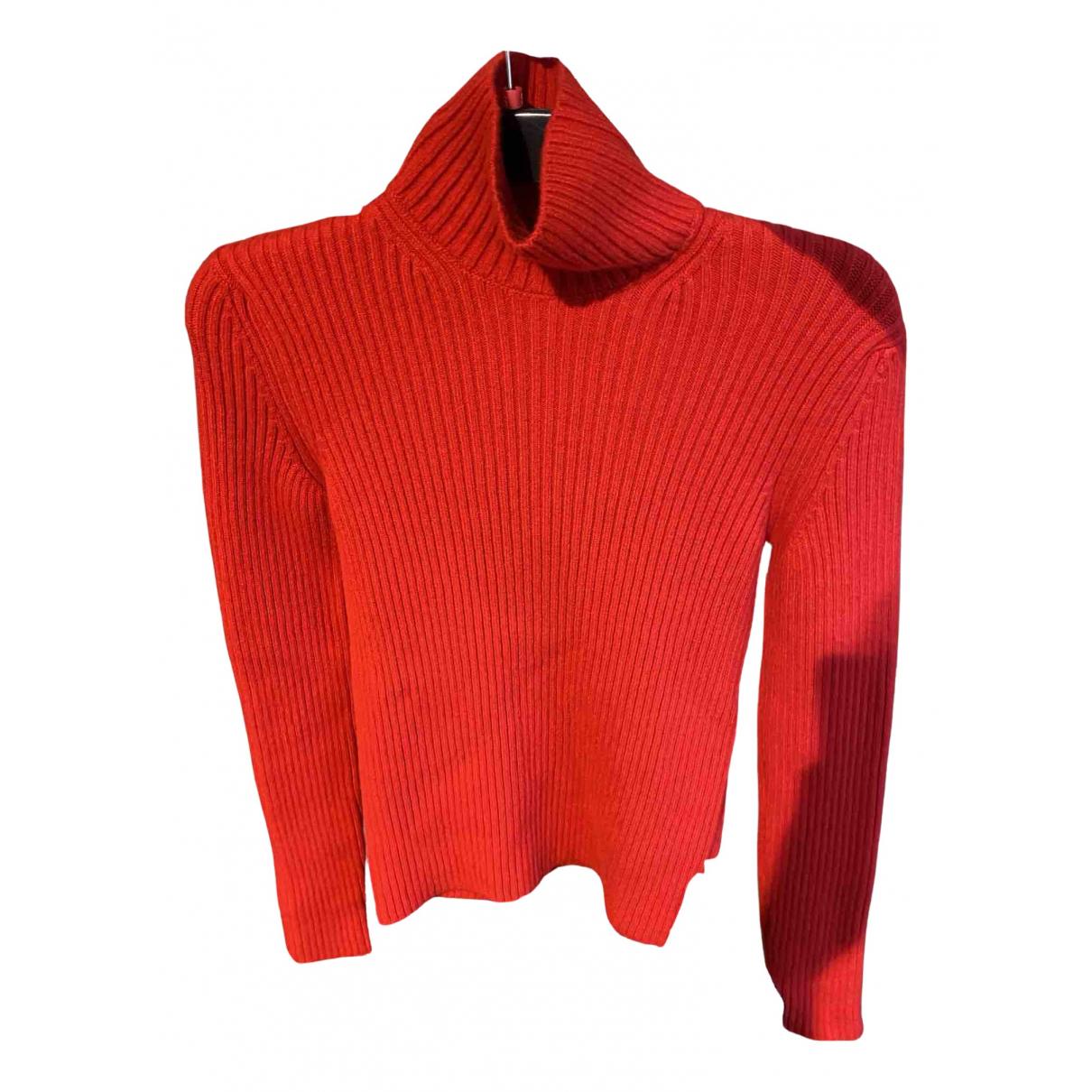 Balenciaga \N Pullover.Westen.Sweatshirts  in  Rot Kaschmir