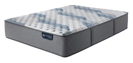 iComfort Hybrid 500821261-1030 Blue Fusion 500 14H Full Size Extra Firm Tight Top Mattress with Deep Reaction Max Memory Foam  Hybrid Coil Support