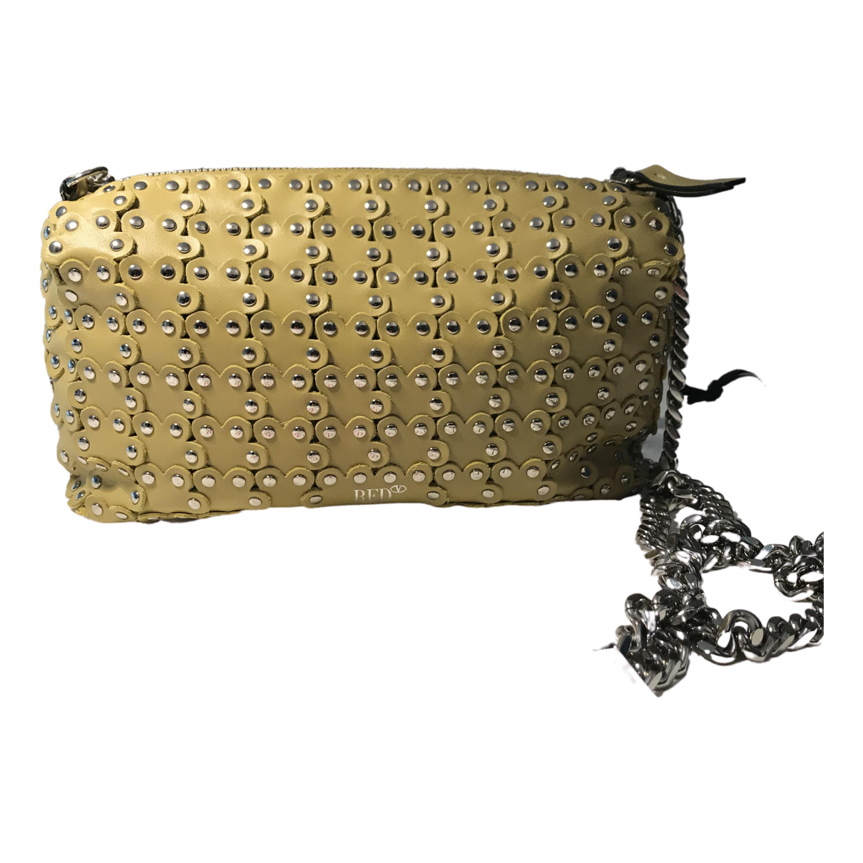 Red Valentino Garavani N Green Leather handbag for Women N