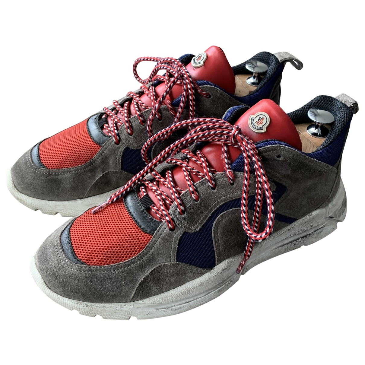 Moncler \N Grey Rubber Trainers for Men 41 EU