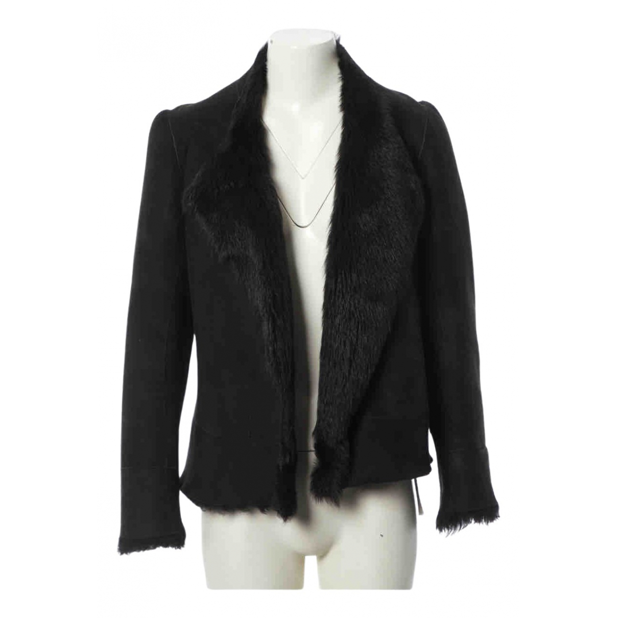 Zara \N Black coat  for Men 42 FR