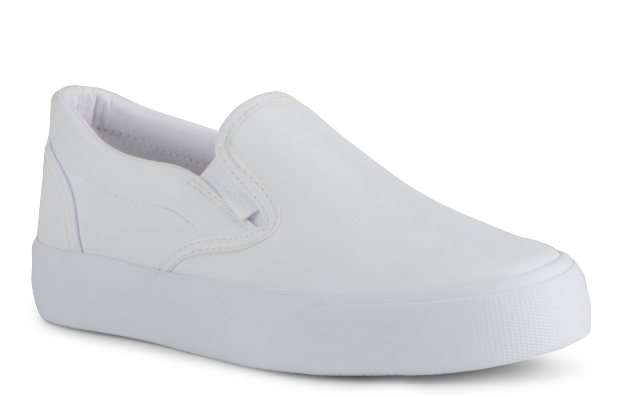 Women's Clipper Lx Slip-On Sneaker (Choose Your Color: WHITE, Choose Your Size: 6.0)