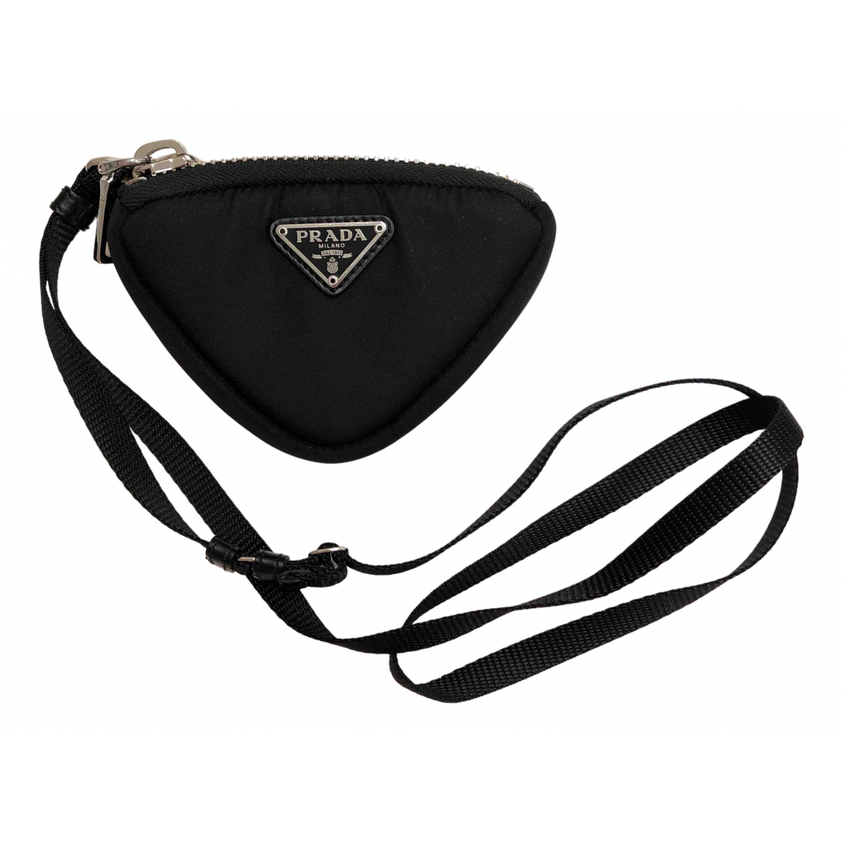 Prada \N Black Cloth Purses, wallet & cases for Women \N