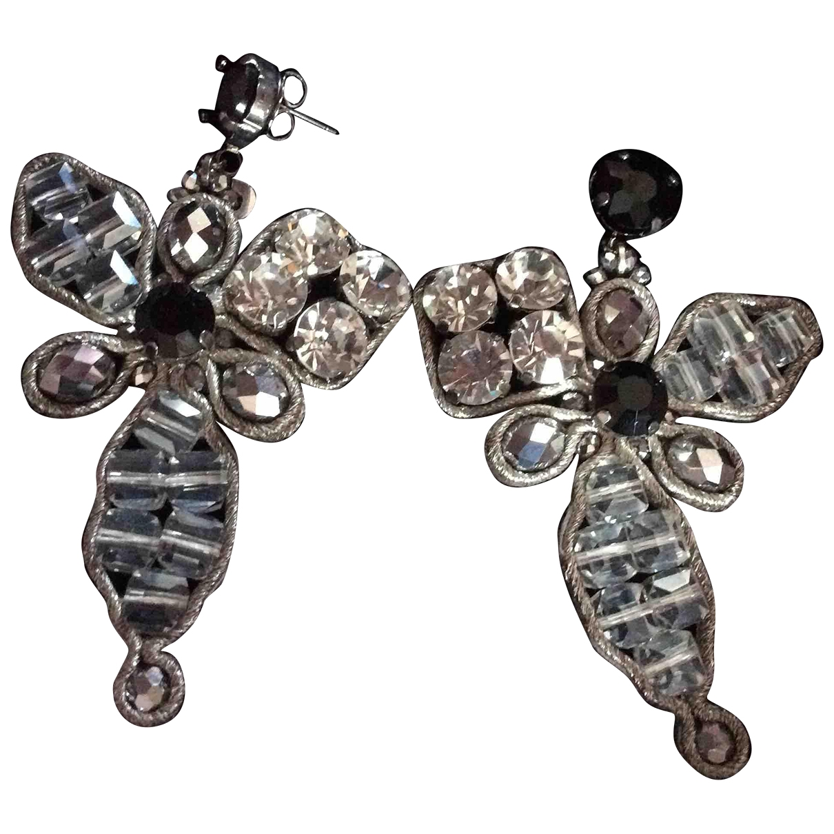 - Boucles doreilles   pour femme en cristal