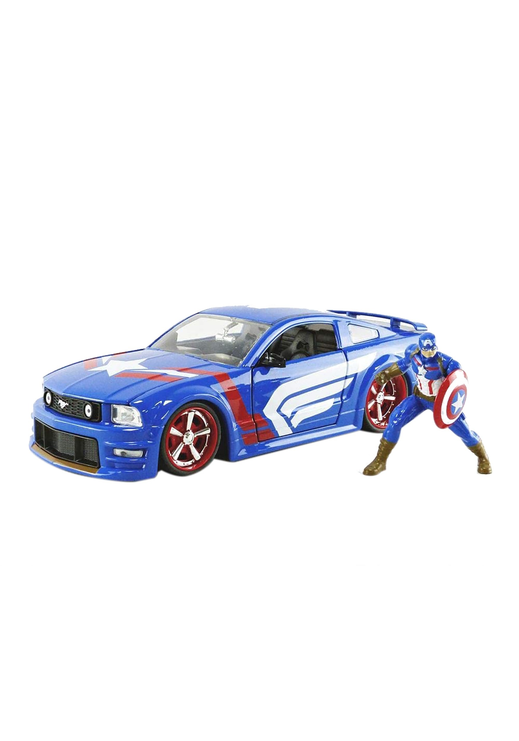 1:24 Scale 2006 Ford Mustang GT w/ Captain America