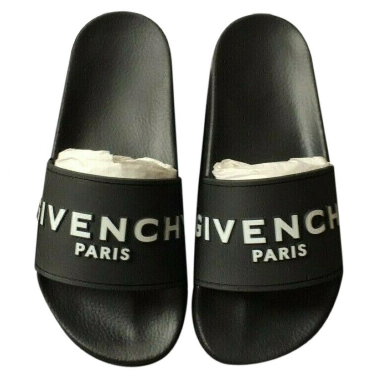 Givenchy - Sandales   pour femme en caoutchouc - noir