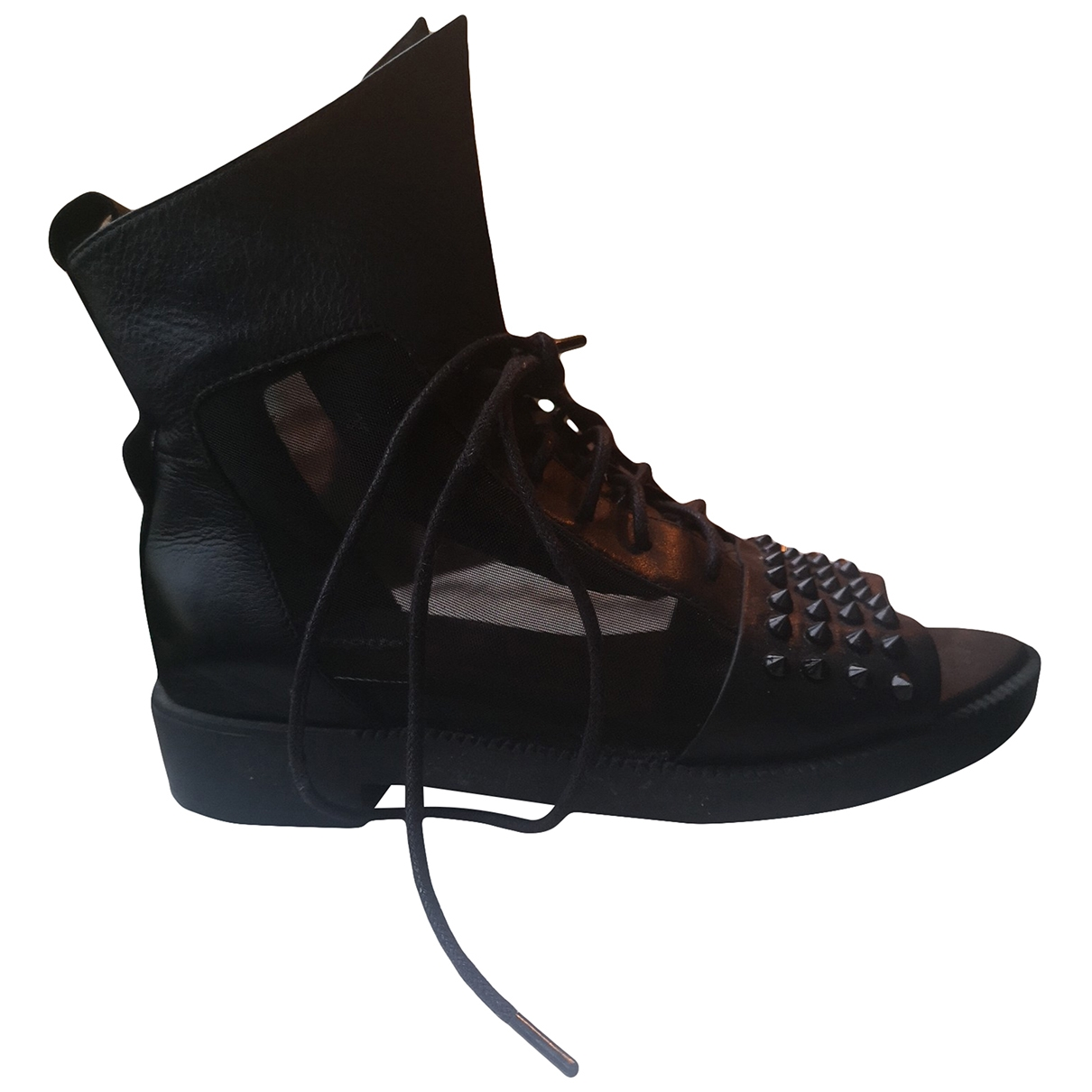 La Botte Gardiane - Bottes   pour femme en cuir - noir