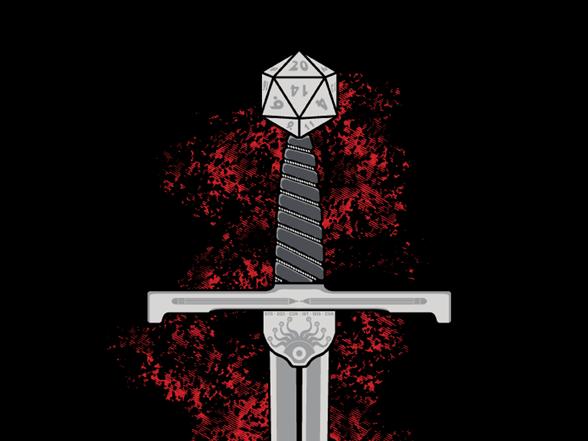 +5 Sword Of Critical Hits T Shirt