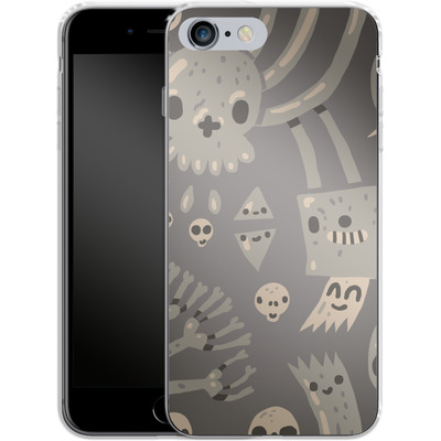 Apple iPhone 6 Plus Silikon Handyhuelle - Cartoon Bones von caseable Designs