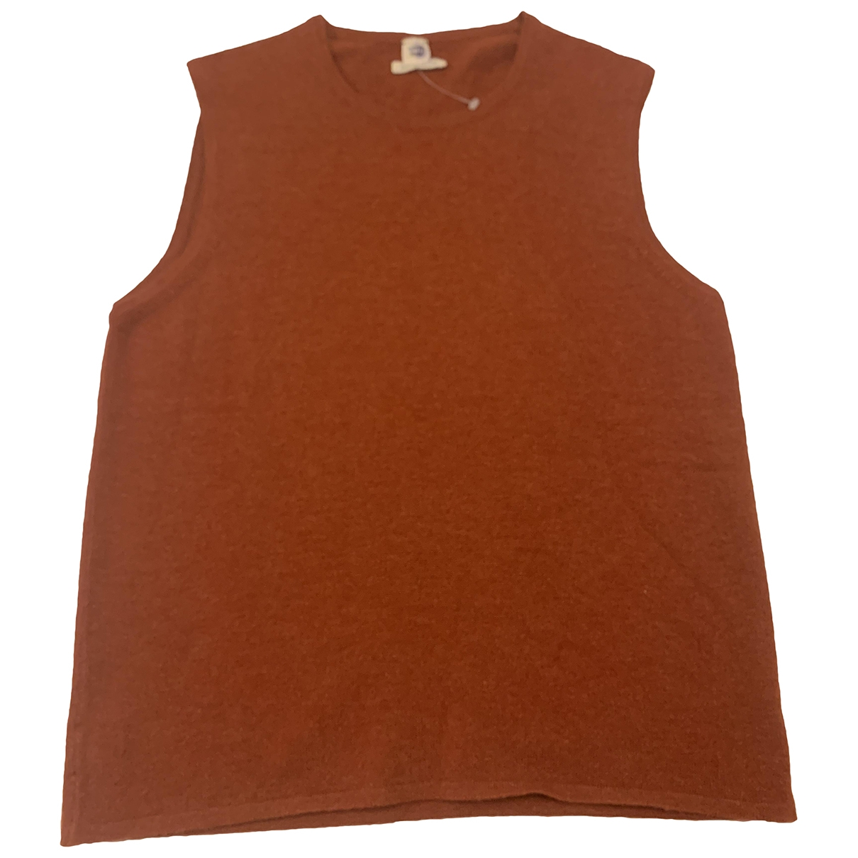 Hermès \N Orange Cashmere Knitwear for Women 38 FR