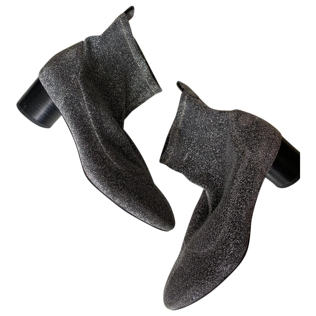 Senso \N Stiefel in  Metallic Mit Pailletten