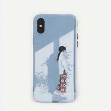 Figure Pattern iPhone Case
