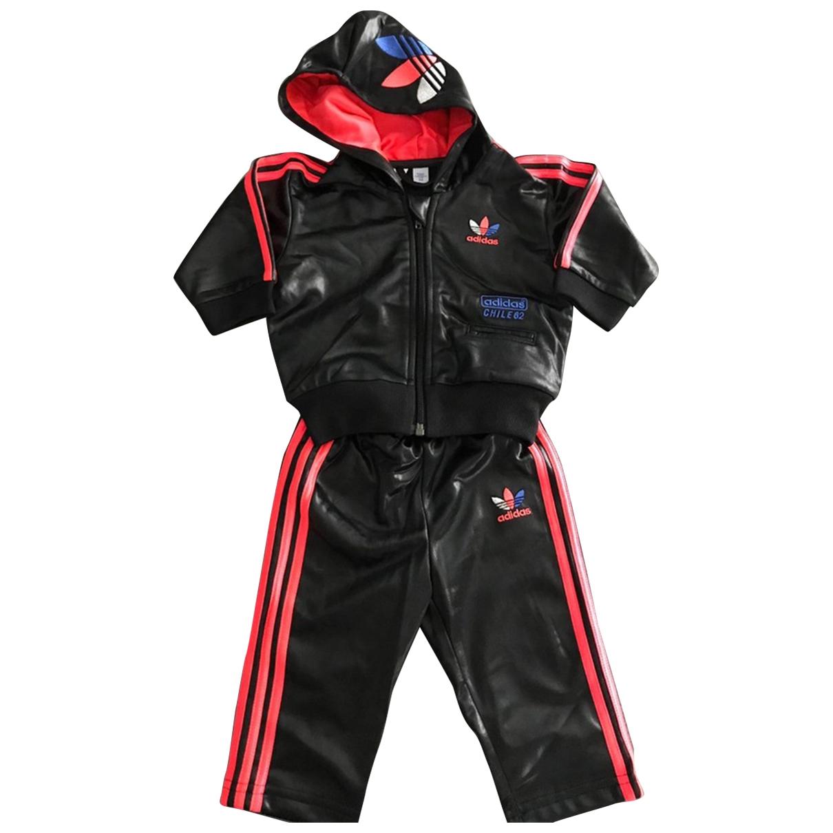 Adidas \N Sets in  Schwarz Polyester