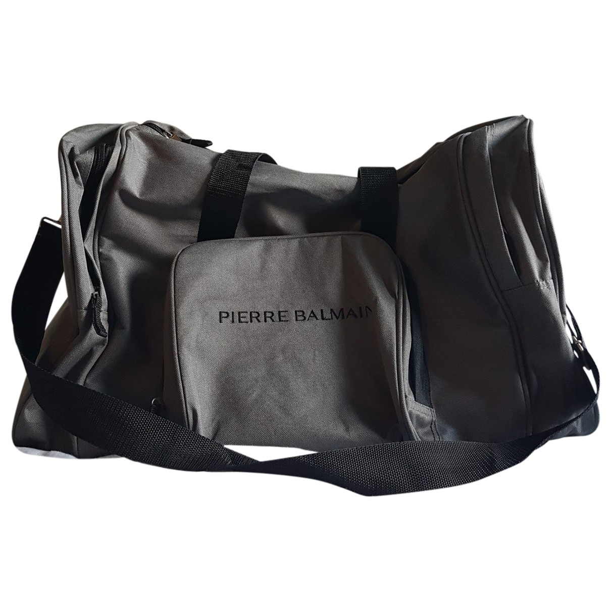 Pierre Balmain \N Grey Travel bag for Women \N