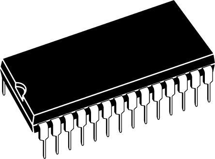 Microchip PIC18F27J53-I/SP, 8bit PIC Microcontroller, PIC18F, 48MHz, 128 kB Flash, 28-Pin SPDIP