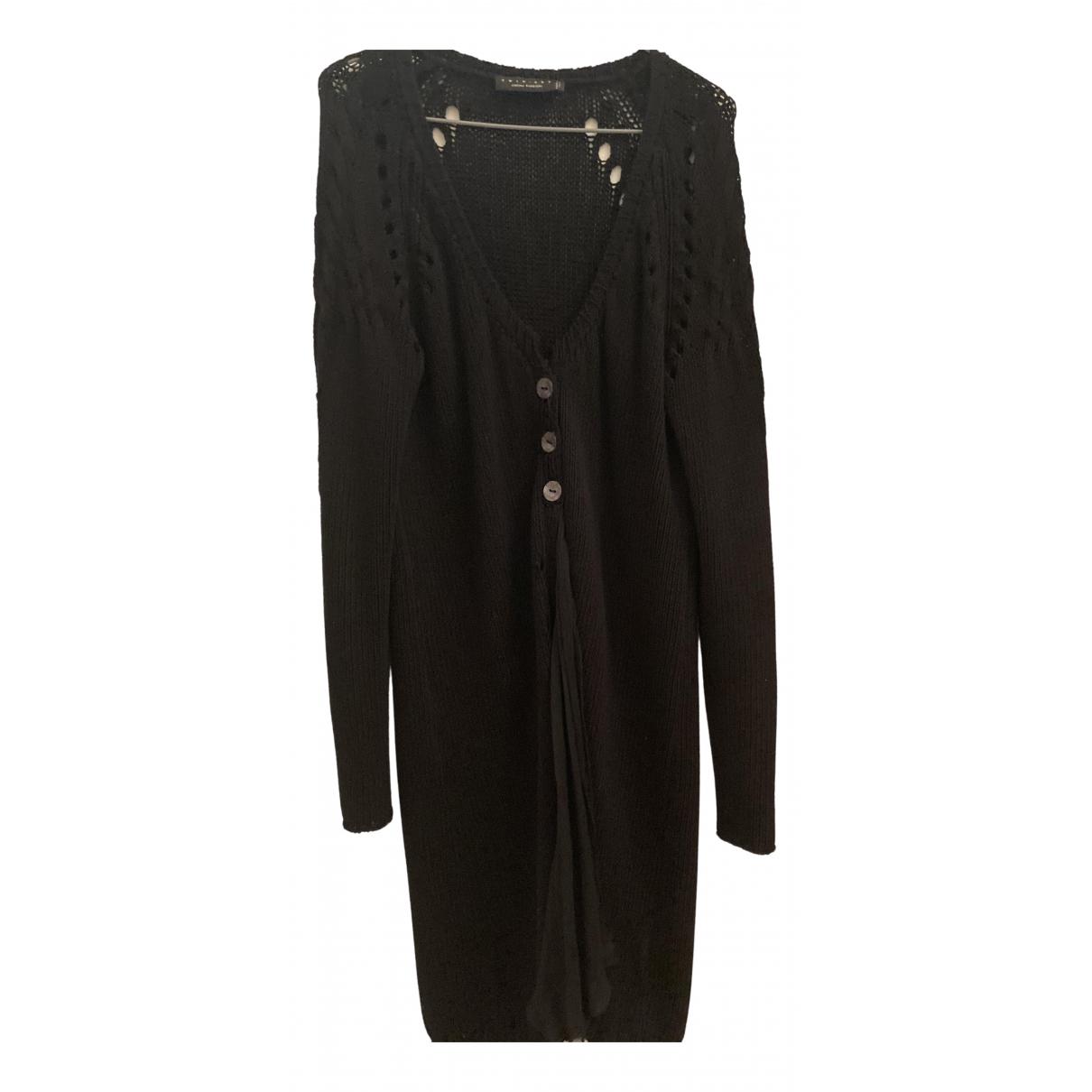 Twin Set N Black Cotton Knitwear for Women M International