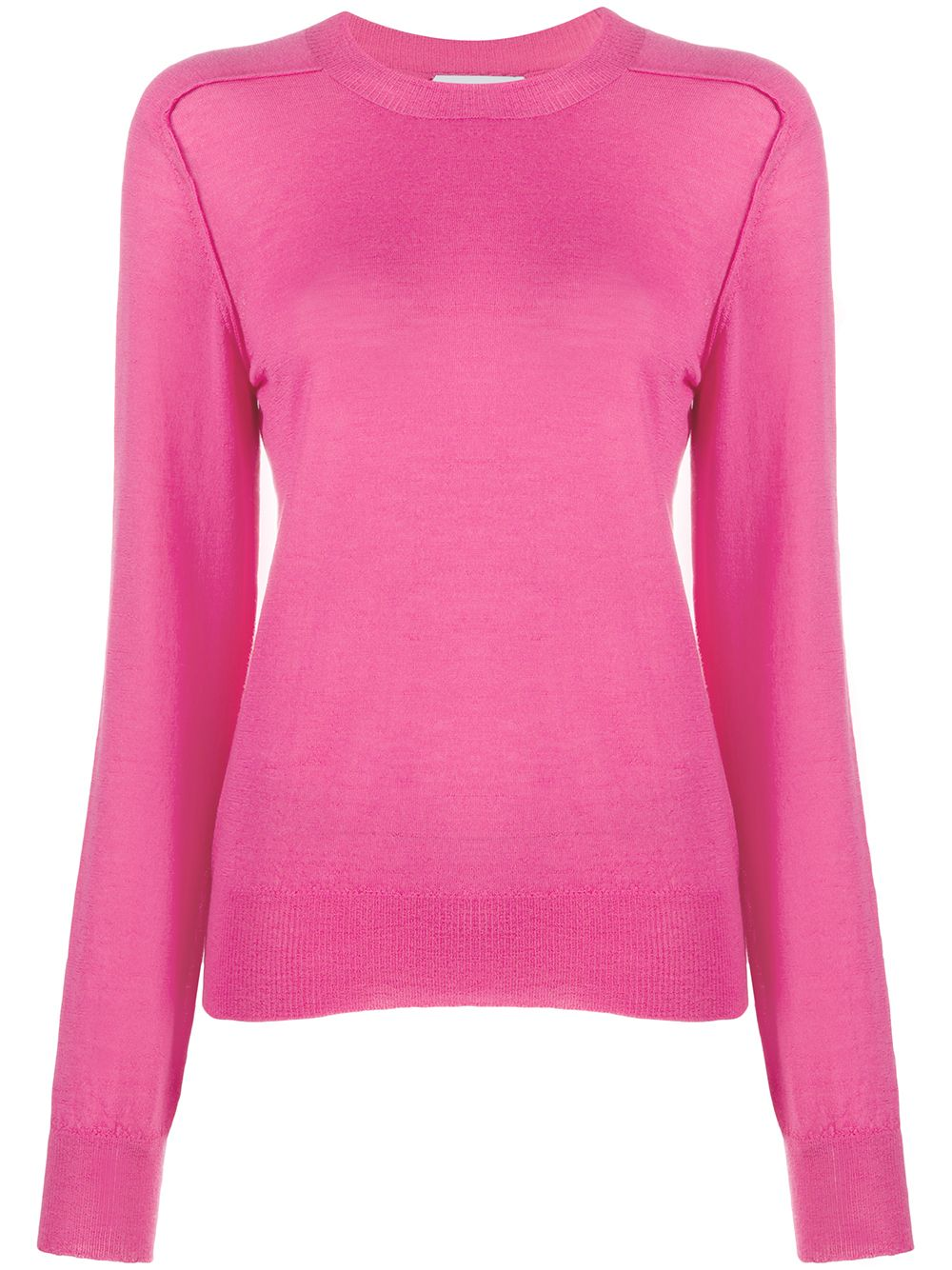 Cashmere Long-sleeve Knitted Top