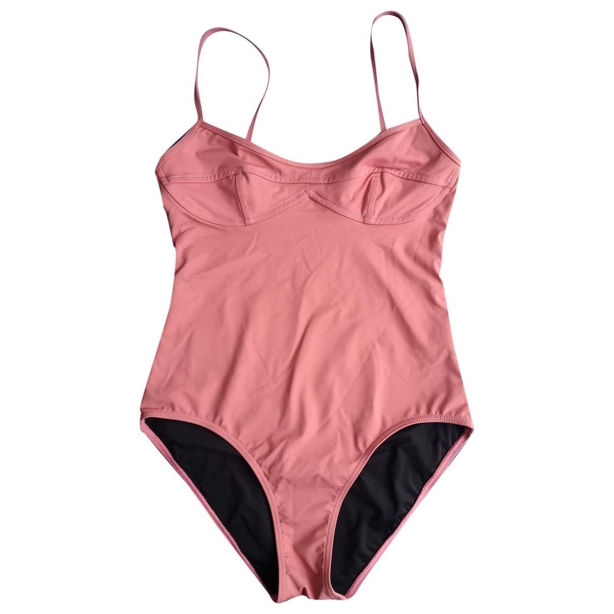 Her Line \N Pink Lycra Swimwear for Women 36 FR