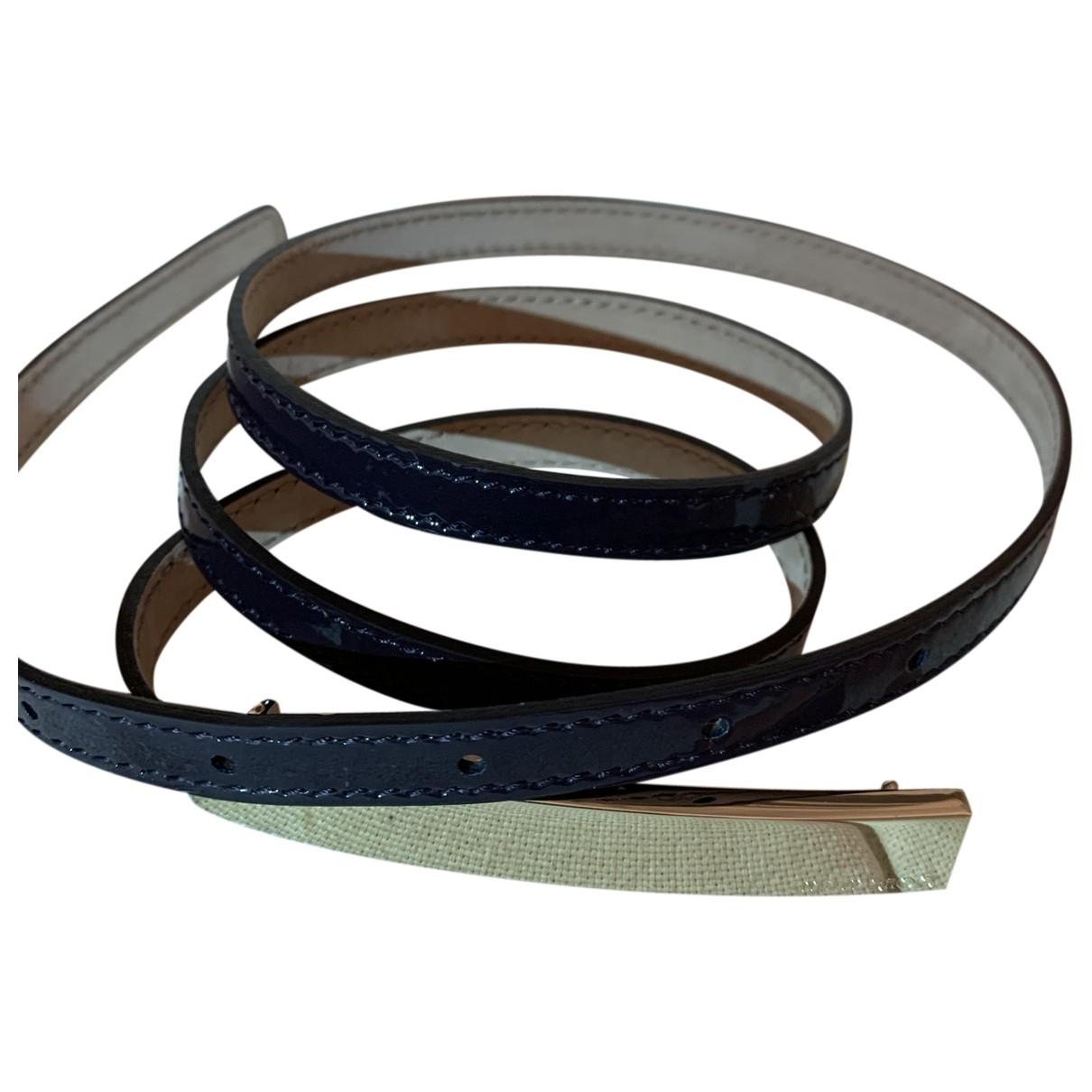 Jimmy Choo \N Purple Leather belt for Women 90 cm