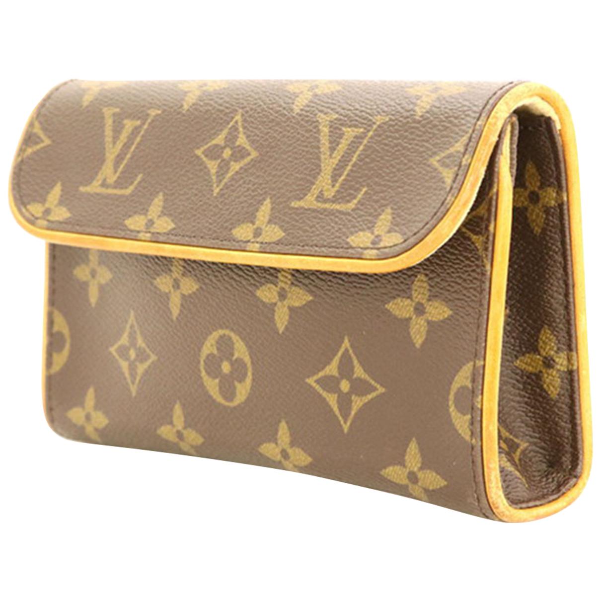 Louis Vuitton - Petite maroquinerie   pour femme en cuir - marron