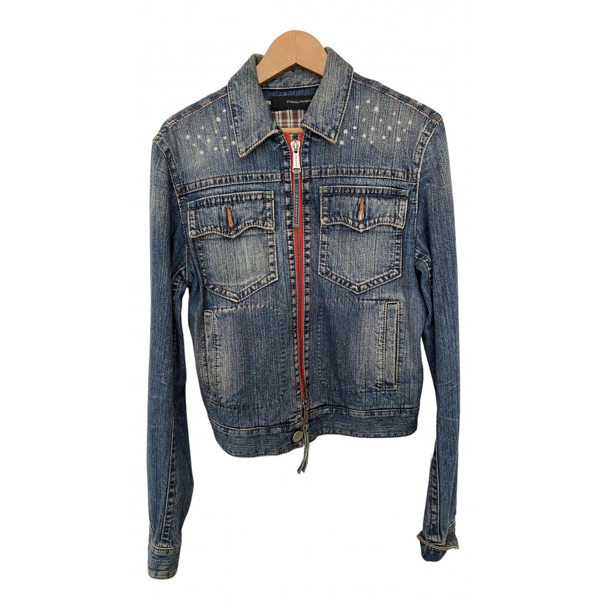Dsquared2 \N Blue Denim - Jeans jacket  for Men 50 IT