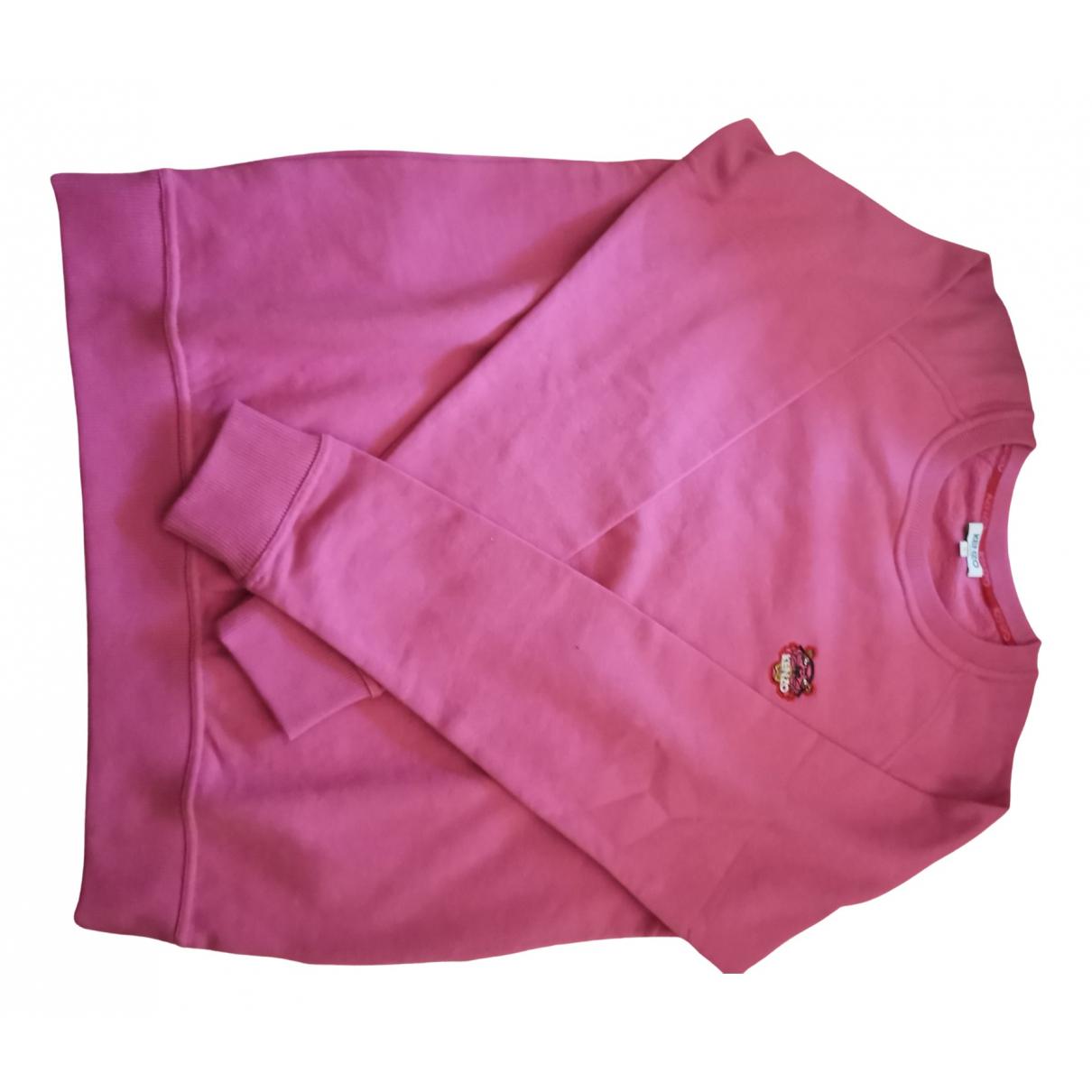 Kenzo \N Pullover.Westen.Sweatshirts  in  Rosa Baumwolle