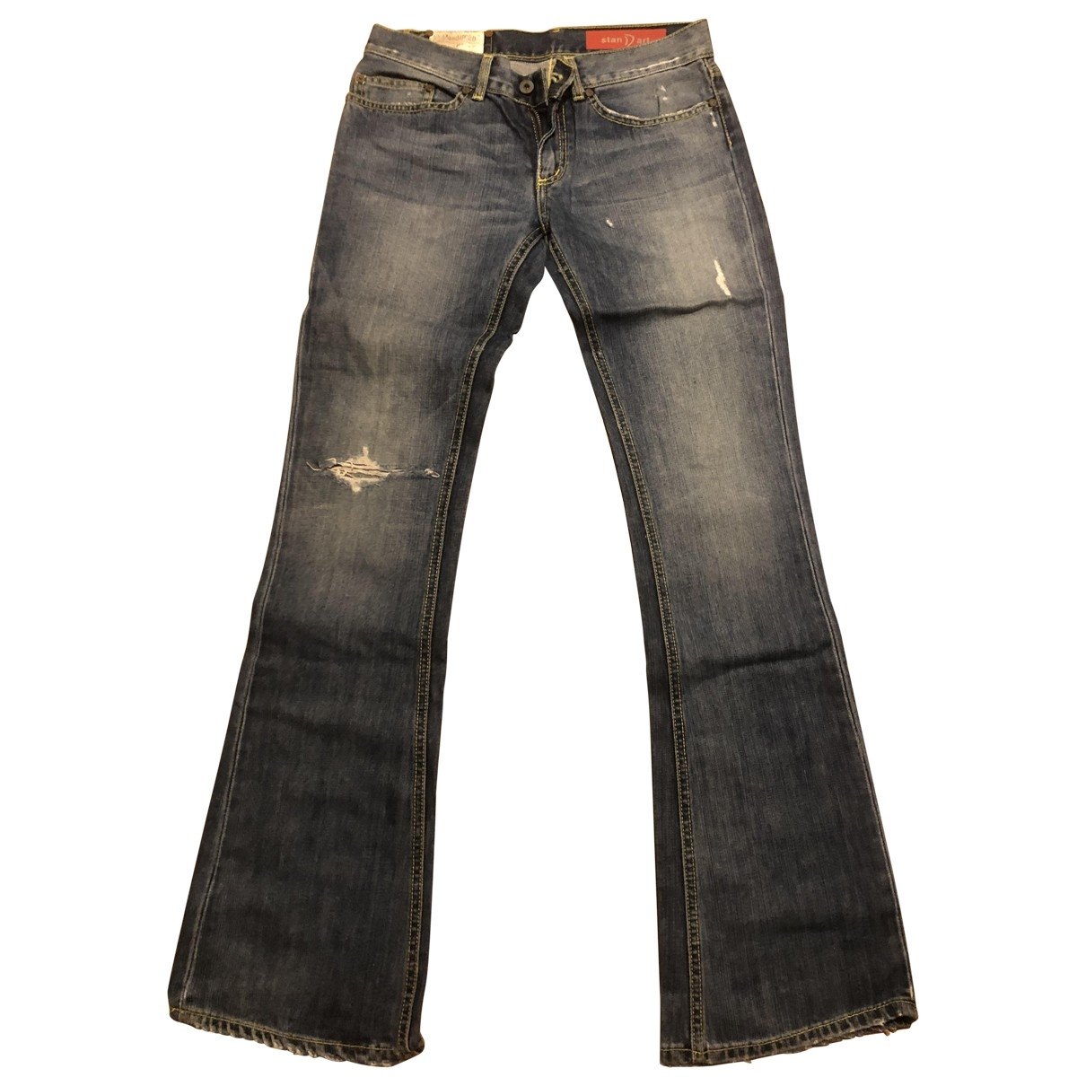 Dondup \N Blue Cotton Jeans for Women 28 US