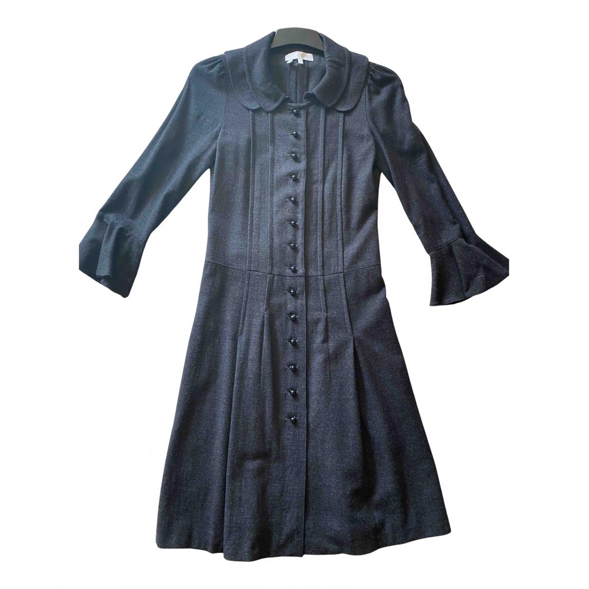 Escada N Anthracite Wool dress for Women S International