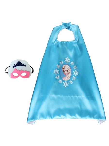 Milanoo Frozen Kid Cape Cloak Costume Accessories Cosplay Costume Halloween
