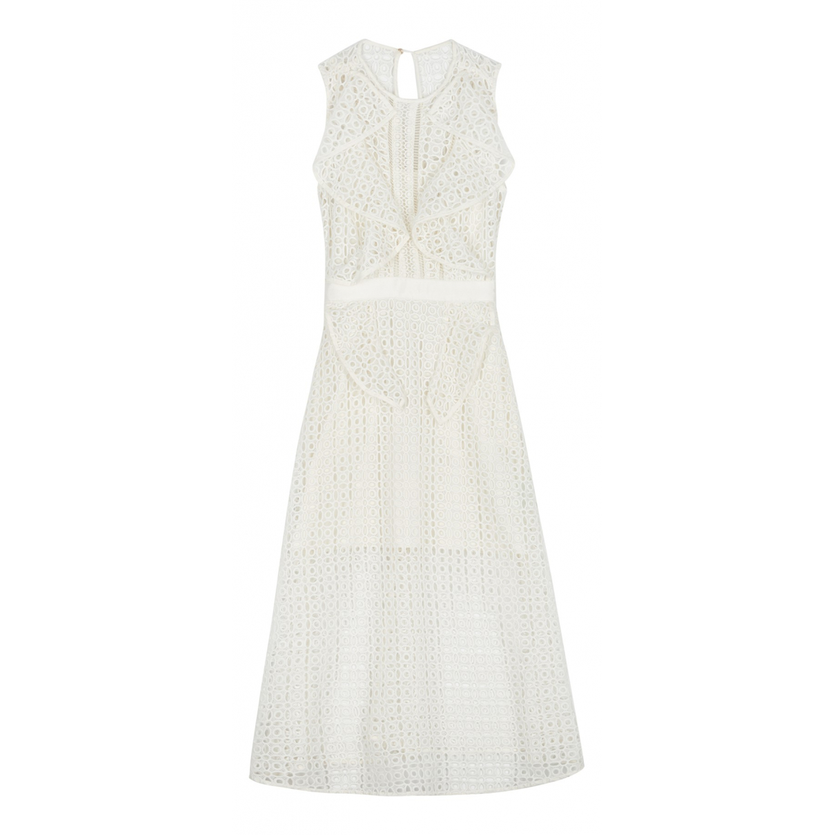 Self Portrait N White Cotton dress for Women 6 UK