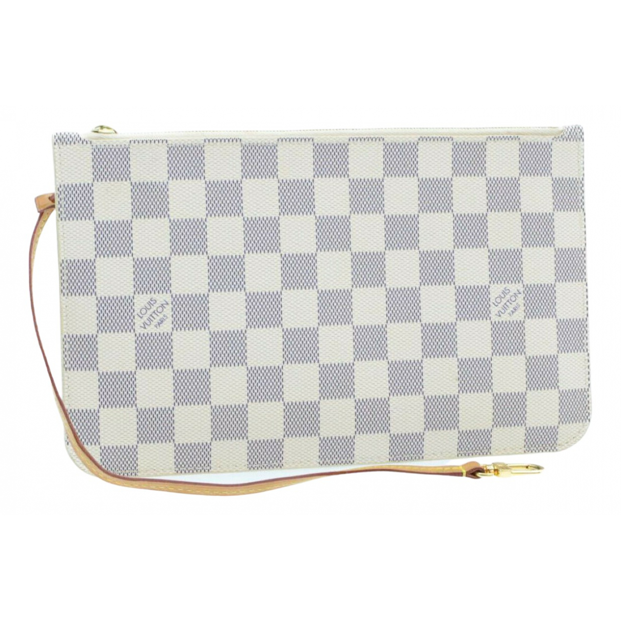 Louis Vuitton Neverfull Blue Cloth Clutch bag for Women N