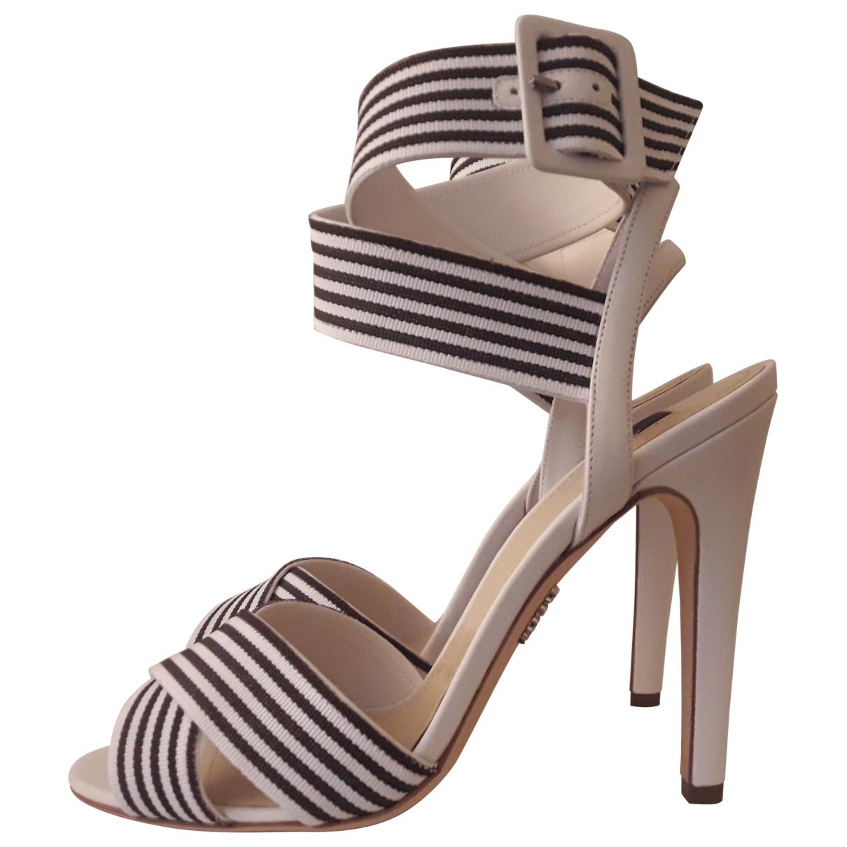 Rodo - Sandales   pour femme en cuir - blanc
