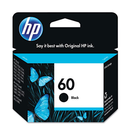 HP 60 CC640WN Original Black Ink Cartridge