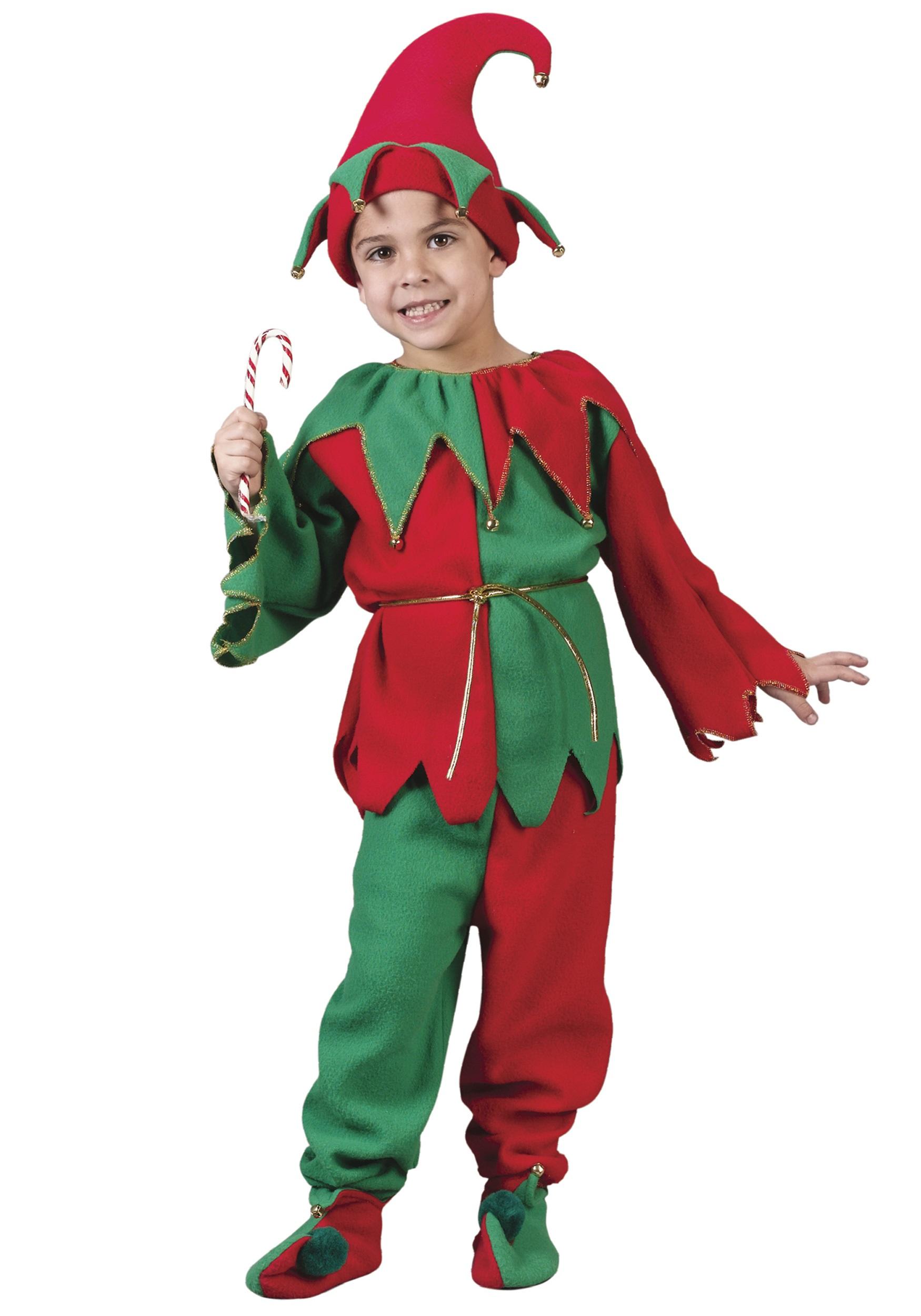 Santa's Child Elf Costume